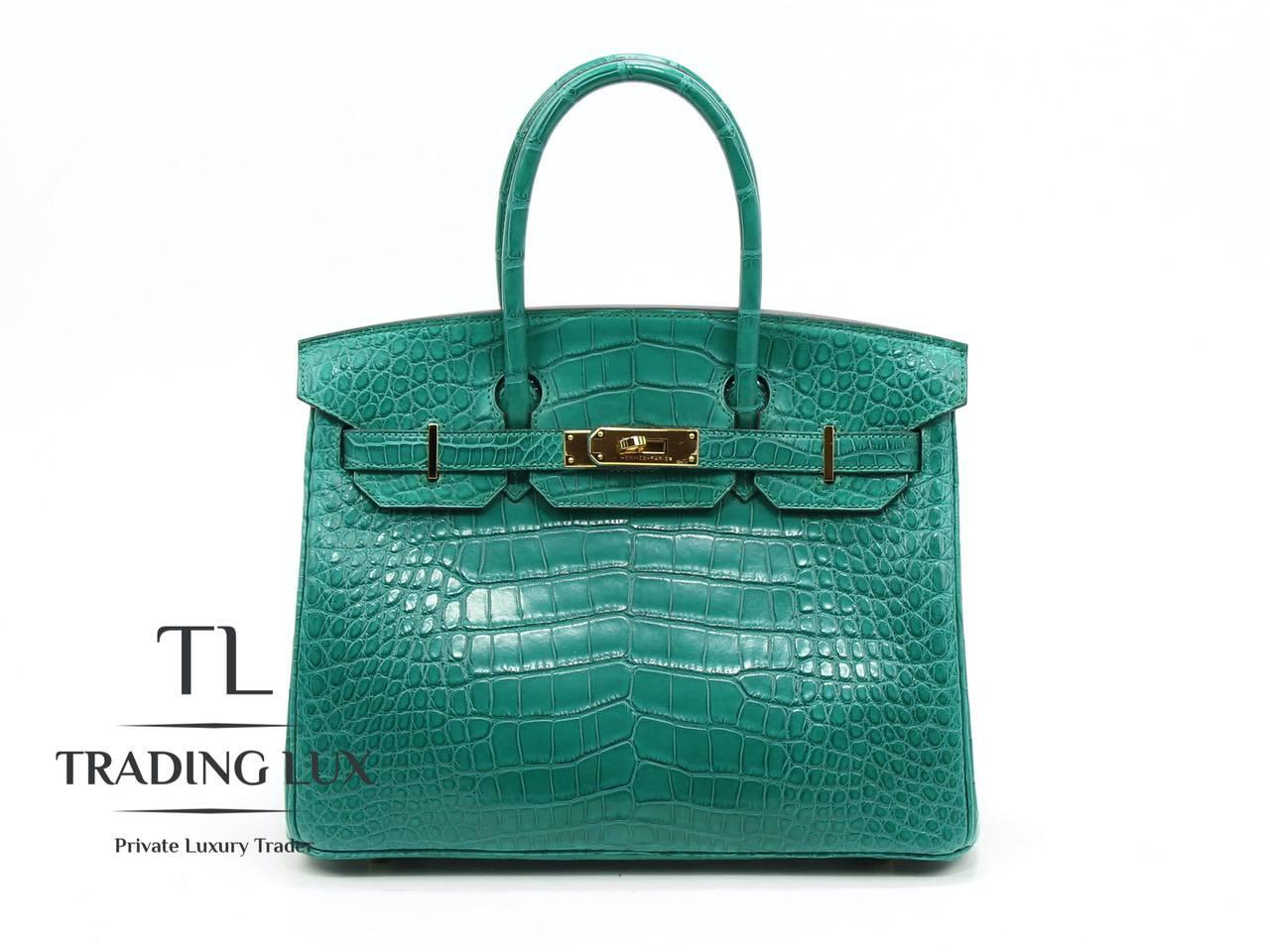 Hermès-Birkin-30-Malachite-0