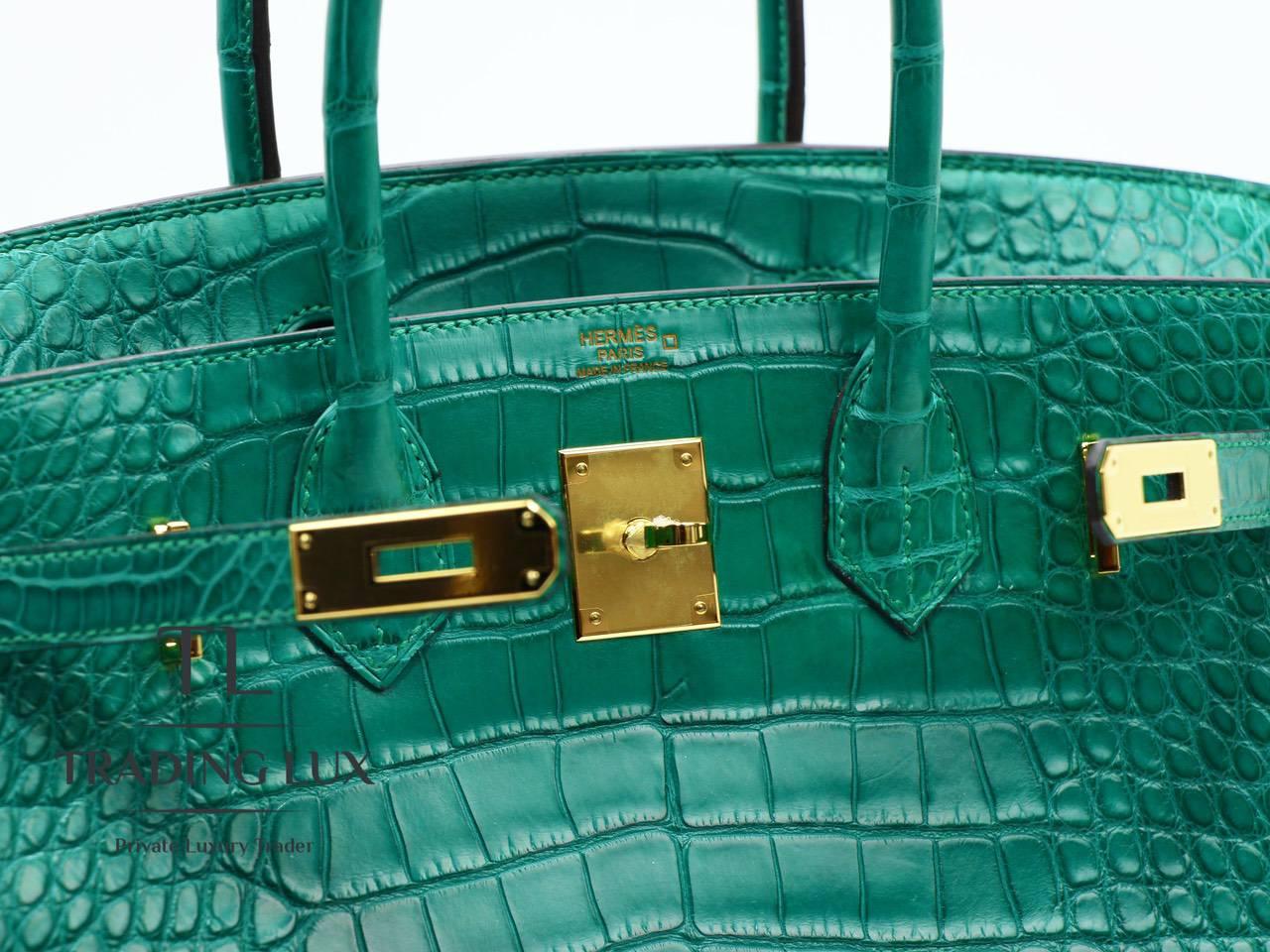Hermès-Birkin-30-Malachite-9
