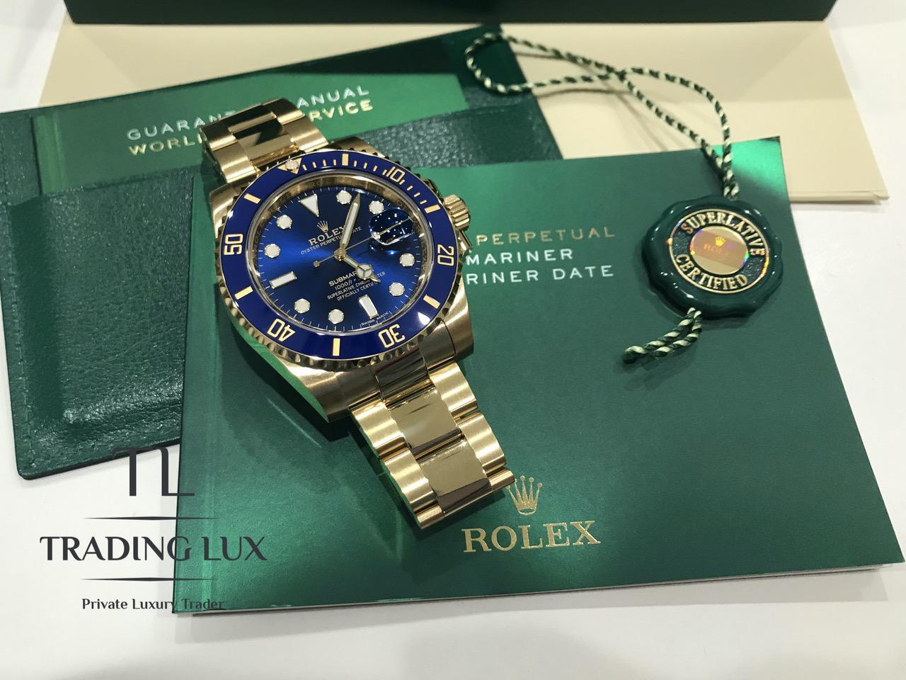 Rolex-Submariner-116618LB-8