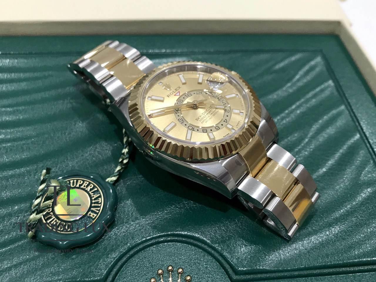Rolex-Sky-Dweller-326933-Champagne-1