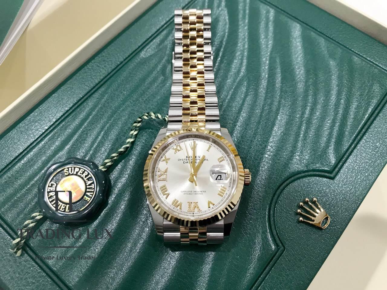 Rolex-Datejust-Silver-Roman-Numeral-126233-0