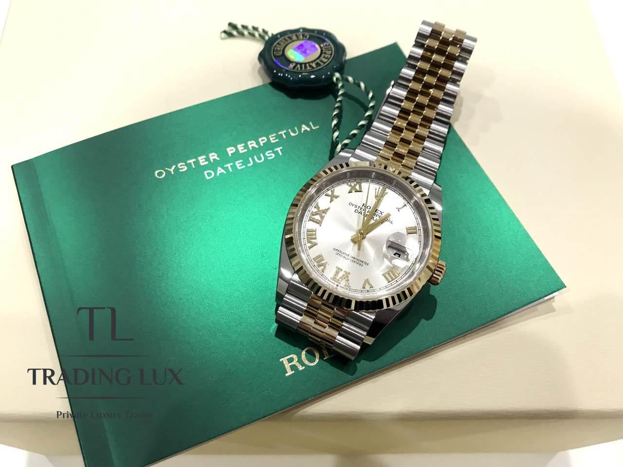 Rolex-Datejust-Silver-Roman-Numeral-126233-1