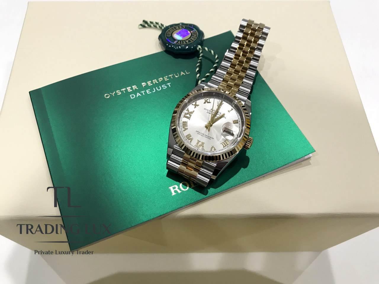 Rolex-Datejust-Silver-Roman-Numeral-126233-2