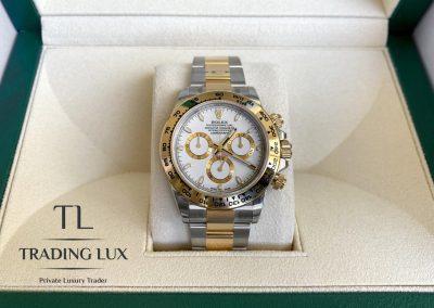 Rolex Daytona 116503 Gold and Steel