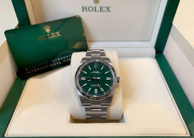 Rolex Oyster Perpetual Green 124300